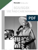Thermador Gas Star Sgsx304 Manual de Usuario
