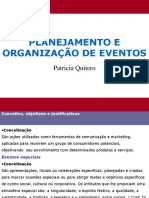 Aula Organização de Eventos Patricia