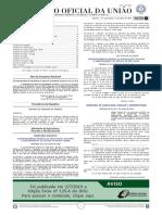 Diario Oficial da União - Tipo 1 - 03/07/2019