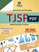 DIREITO SINÓTIPO - PLANEJAMENTO DE ESTUDOS PARA O TJSP-2018 EM 60 DIAS