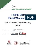 EGPR 2019 Workshop Brochure