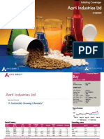 Aarti Industries Ltd - Initiating Coverage - Axis Direct