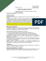 Especificaciones Tecnicas La Molina Citibank 02-02-10
