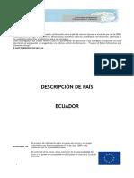 Descripcion de Ecuador