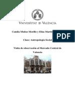 Informe Mercado Central de Valencia