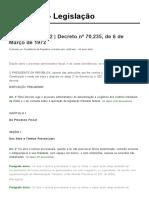 Decreto 70235 - 72 - Processo administrativo fiscal.pdf