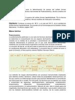 Anteproyecto potenciometría sulfato ferroso