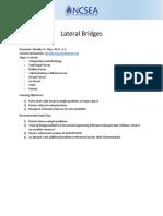 Handout.mays.Lateral Bridges