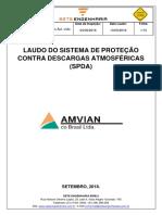 Laudo SPDA Amvian2018