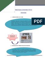 Proceso Constructivo de Un Pónton