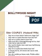 Bollywood Night Event