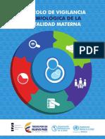 Protocolo de Vigilancia Epidemiológica de La Mortalidad Materna OPS 2016 Esp
