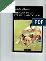 400503834 Historia de Un Perro Llamado Leal PDF