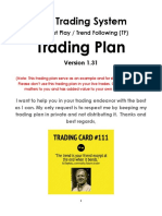 Breakout Play (Trend Following) - Trading Plan -  Full (Sample).docx