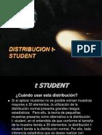 Distribucion t de Estudent
