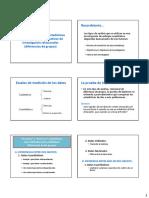 4 Pruebas Estudios Relacionales (Diferencia de Medias)