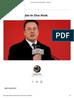 Las Estrictas Reglas de Musk