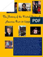 The History of the United States of America Part 10 (1991-2008)