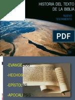 Historia del texto del Nuevo Testamento