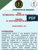 Victimalística. La Escena de Victimización. Dr. Julio Matos Quesada