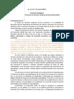 Proyecto Promocion y Prevencion Corregigo