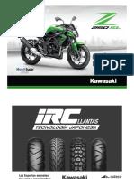 Kawasaki - z250 Sl Act. Ene. 2015 - 2015