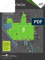 PTV Free Tram Zone Map