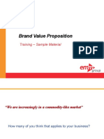 Brand Value Proposition Course Sample Materials v1 Ssd 100410