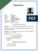 CV Gabriel Moussa Diouf