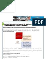 Elementos y Estructura de La Balanza de Comprobación – Contabilidad 1 _ CiberTareas