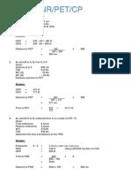 FP  PNR,PET,CT 1