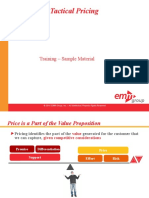 Strategic and Tactical Pricing Course Sample Materials v1 Ssd 101310_1