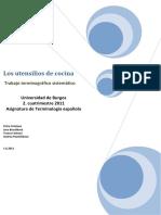 Trabajo terminografico - Los utensilios de cocina - grupo checo.pdf