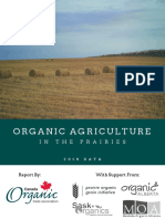 Organic Agriculture in the Prairies: 2018 Data