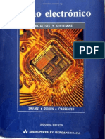 Diseño Electrónico - C. J. Savant Jr., Martin S. Roder & Gordon L. Carpenter - 2da Ed.pdf