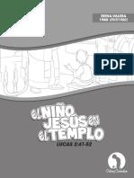 001- EL NIÑO JESÚS EN EL TEMPLO © Calvary Curriculum