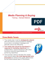 Media Planning and Buying Course Sample Materials v1 Ssd 101310