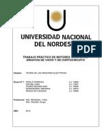 Informe - Síncronos Ensayo de Vacío y de Cortocircuito.docx