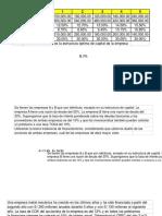 Estructura Capital Ejercicios