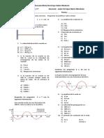 Examen de Física 11°