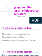 Chapter 4 _'Staging' and the Representation of Discourse Structure 7- May- 2018