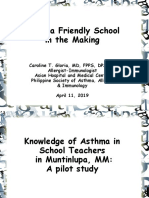 Asthma in Schools, Philippines
