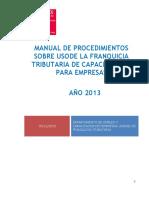 manual de procedimientos de franquicia tributaria 2013 pdf (1).pdf