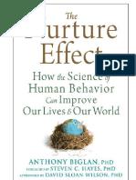 Anthony Biglan - Nurture Effect - Science of Human Behav Improve Lives - BESTS