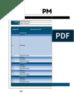 Matriz de Adquisiciones - Plantilla Con Ejemplo