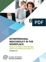 Global Business Ethics Survey 2018 Q4 Final