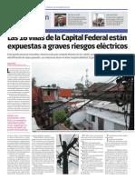 Electricidad en las villas porteñas