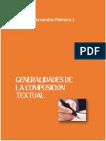 Generalidades de La Composición Textual 3er Año de educación básica