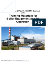 Training Materials for Boiler Equipment and Its Operation