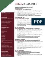 gabriellablauert resume